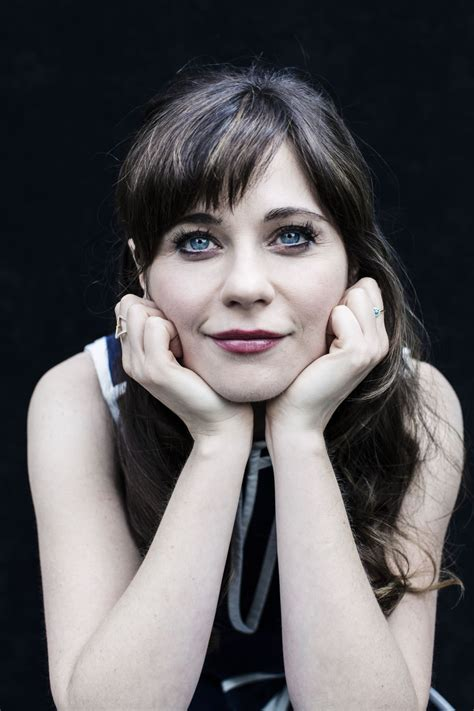 Zooey Deschanel At Dustin Cohen Photoshoot For USA Today