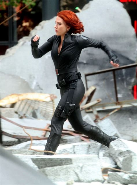 Celebrity Whereabouts: Scarlett Johansson on the set of