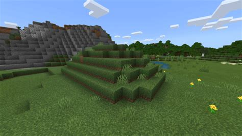 Lower Grass – Resource Pack for Minecraft on Android